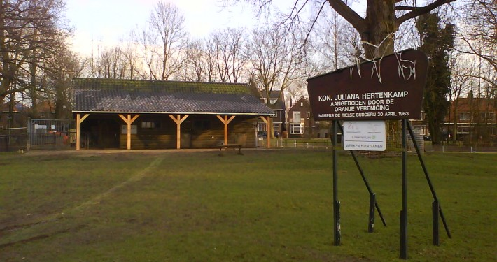 Nieuwe dak dierenpark